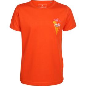 Elkline Mostwanted T-shirt Fille, orange